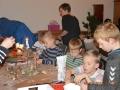 Børnene laver julestads -